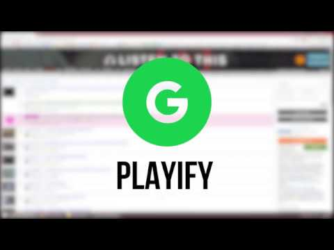Playify (Chrome Extension)