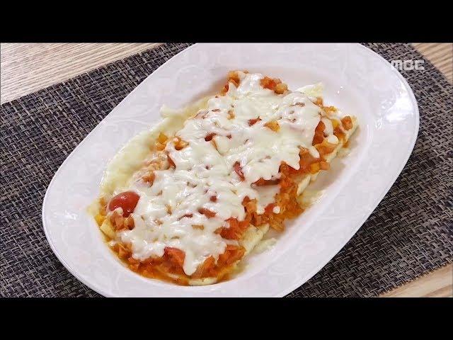 [Smart Living]Tofu with Stir-fried Kimchi pizza 담백하고 고소한 '두부김치피자'20170829