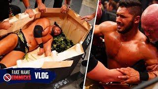 AEW Fyter Fest Coffin Match Backstage Vlog • Ethan Page Vlog