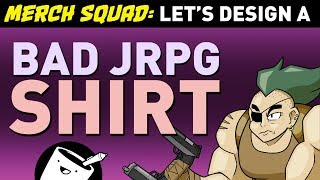 Artists Design Bad JRPG Shirts