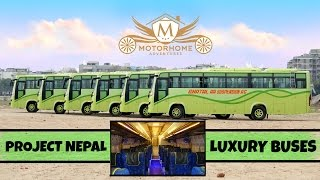 THE FLEET || Luxury Buses || Project Nepal