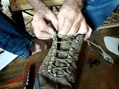 09dfd8cdd37 never tie bungee shoe lace instructions - YouTube