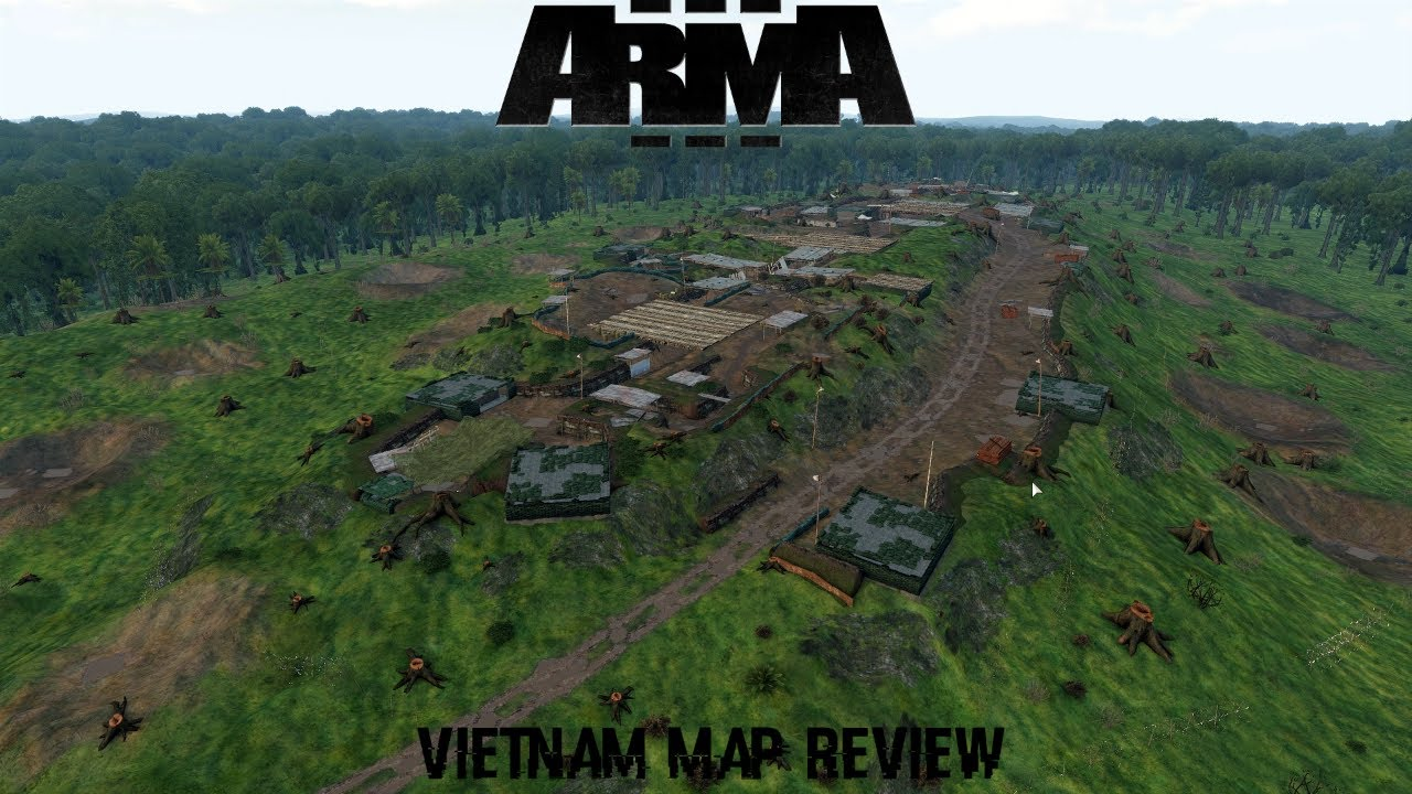 Arma 3 Vietnam Map Review   YouTube