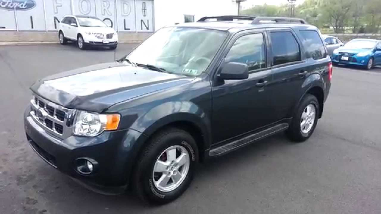 2009 Ford Escape Xlt 4wd Black Pearl Slate Clearcoat