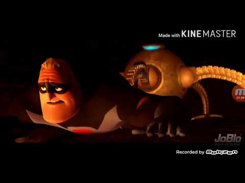 The Incredibles Sound Design (Mr.Incredible Vs Omnidroid) W/Voices & Music