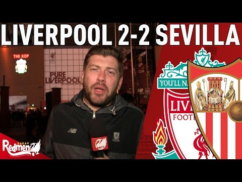 Leaky At The Back, Scintillating In Attack! | Liverpool 2-2 Sevilla | Paul's Match Reaction