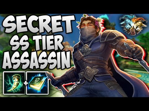 BACCHUS THE SECRET SS TIER ASSASSIN IN RANKED DUEL! - Masters Ranked Duel - SMITE
