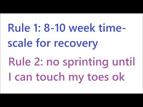 Back On Track? My Recovery From Sprinting Injury – High Hamstring Tendinopathy