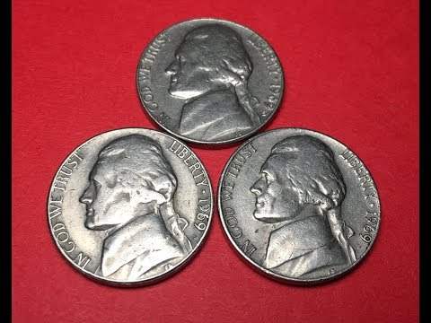1969 US Nickels - 5 Cents - Collectible? Valuable?
