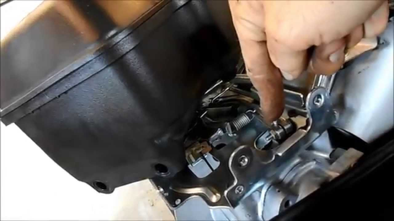 Repairing A Governor On A 6 5hp Briggs Intek Motor
