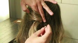 Rodrigo Cintra ensina a fazer penteado prático com apenas um grampo