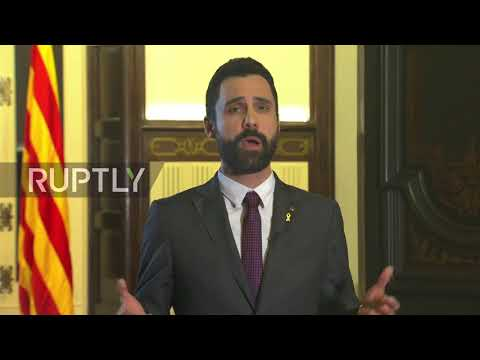 Spain: President of Catalan Parliament calls for unity after Puigdemont arrest