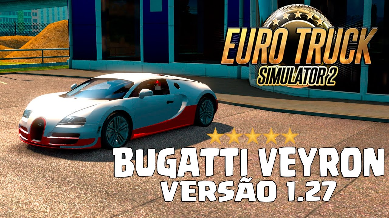 euro truck simulator 2 mod bugatti veyron youtube. Black Bedroom Furniture Sets. Home Design Ideas