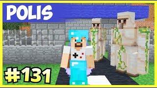 Polis Karakolu İnşaatı, Belediye Çalışıyor - Minecraft Türkçe Survival - Bölüm 131