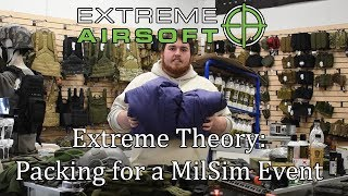 Extreme Theory: Packing for a Milsim Event!