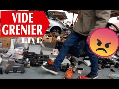Vide Grenier Live - Brocante / Un Exposant M'agresse En VG !