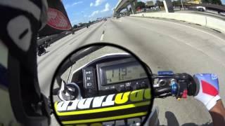 110MPH Dirt Bike+Drz400 0-60 time