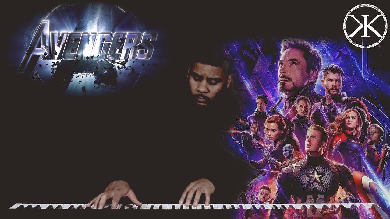 Avengers Endgame - Sad Piano Avengers Theme - Karim Kamar