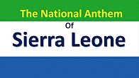 Sierra leone national anthem lyrics
