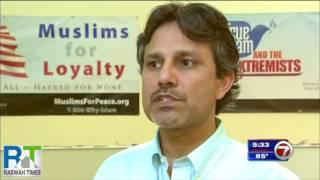 ABC7 : Florida's Ahmadiyya Muslims condemn Orlando Shooting