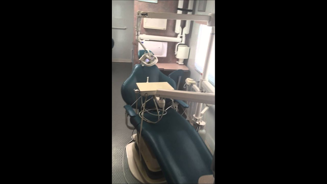 used 3 dental chair mobile dental clinic and mobile dental