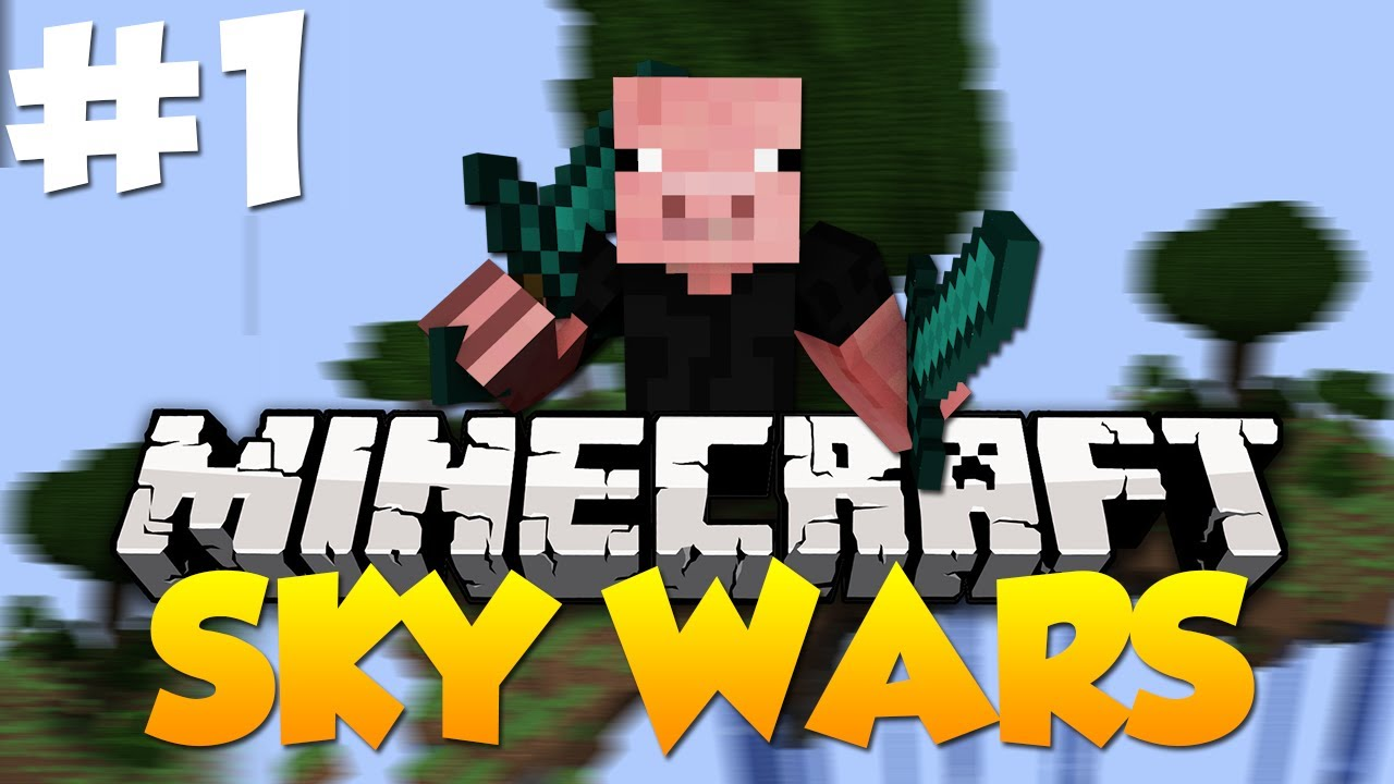 Minecraft Sky Wars - Game 1 | Best Minigame! - YouTube