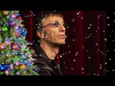 Robin Gibb:  Away in a manger.