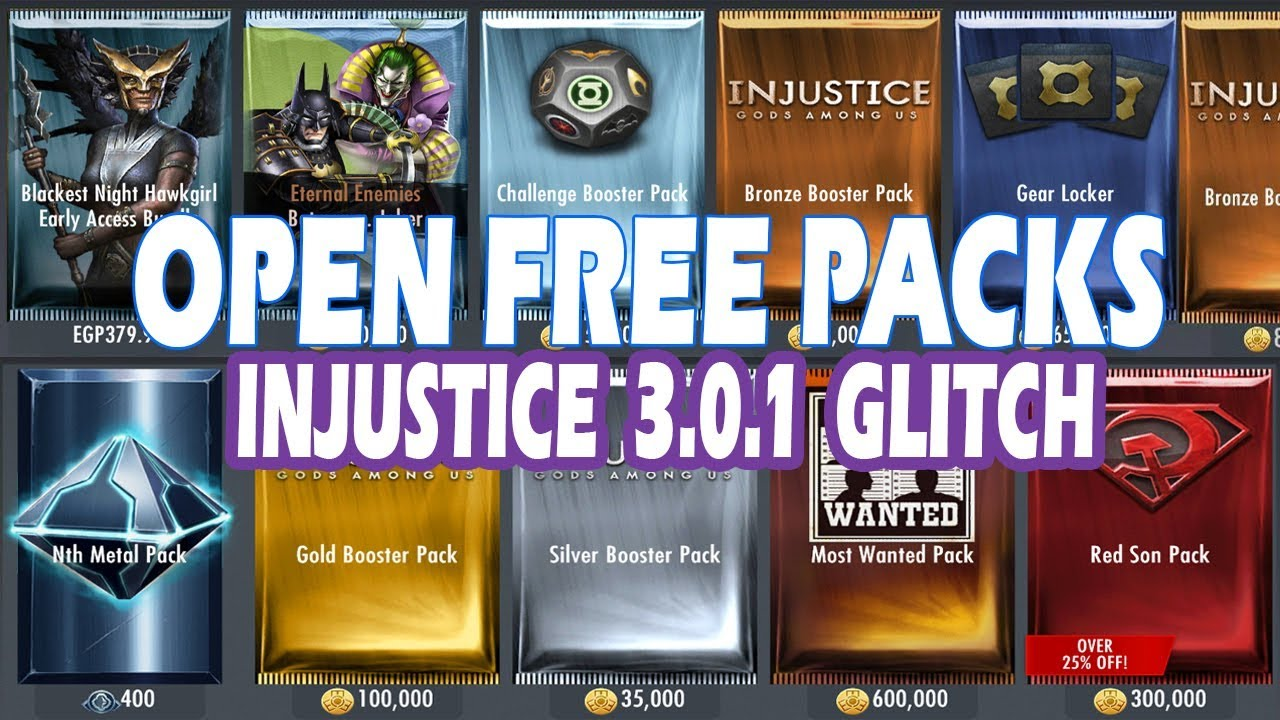 Injustice 3 0 1: (GLITCH) Get All Your Favorite Characters With This Glitch  /iOS/Android