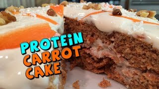 Protein Carrot Cake With Protein Frosting Recipe