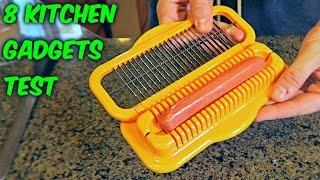 Repeat youtube video 8 Kitchen Gadgets Put to the Test
