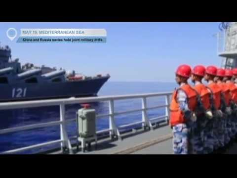 China and Russia navies hold joint military drills: Exercise lasts from May 18 to 21