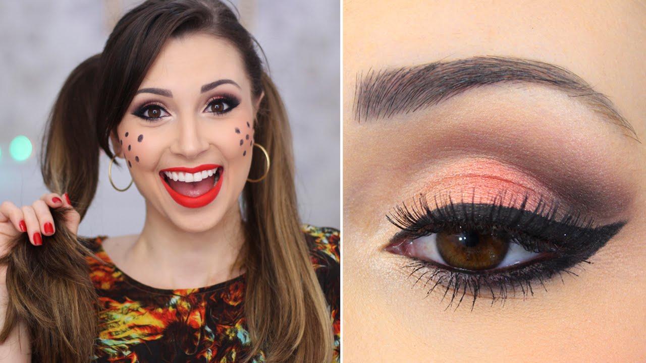 Maquiagem para Festa Junina com olho e boca tudo! - Jana Taffarel - YouTube dfc3deeb4b