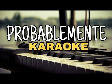 Probablemente - Christian Nodal ft. David Bisbal - Karaoke Acustico