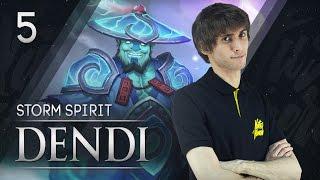 Na`Vi Dendi - Storm Spirit vol.5
