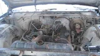 1967 Chrysler Newport First Start After Sitting For 20 Years