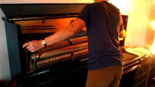 How To Fix A Piano Key(s) (1080p HD)