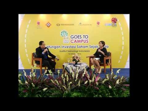 Yuk Nabung Saham Goes to Campus Institur Teknologi Indonesia