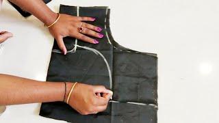 """42""""size katori blouse cutting and stitching"""