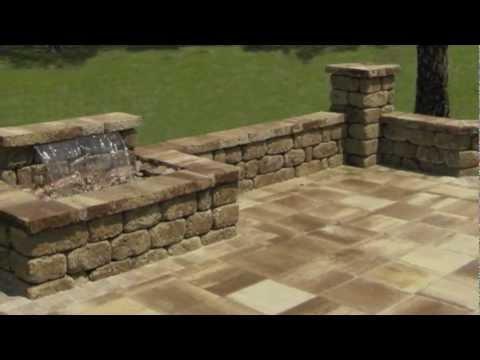Jacksonville Backyard Water Feature Waterfall Youtube