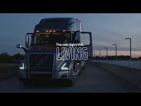 Volvo Trucks - The most comfortable cab on the road – the new Volvo VNL