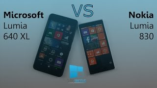 microsoft lumia 640 xl vs nokia lumia 830 confronto ita da tuttowindows net