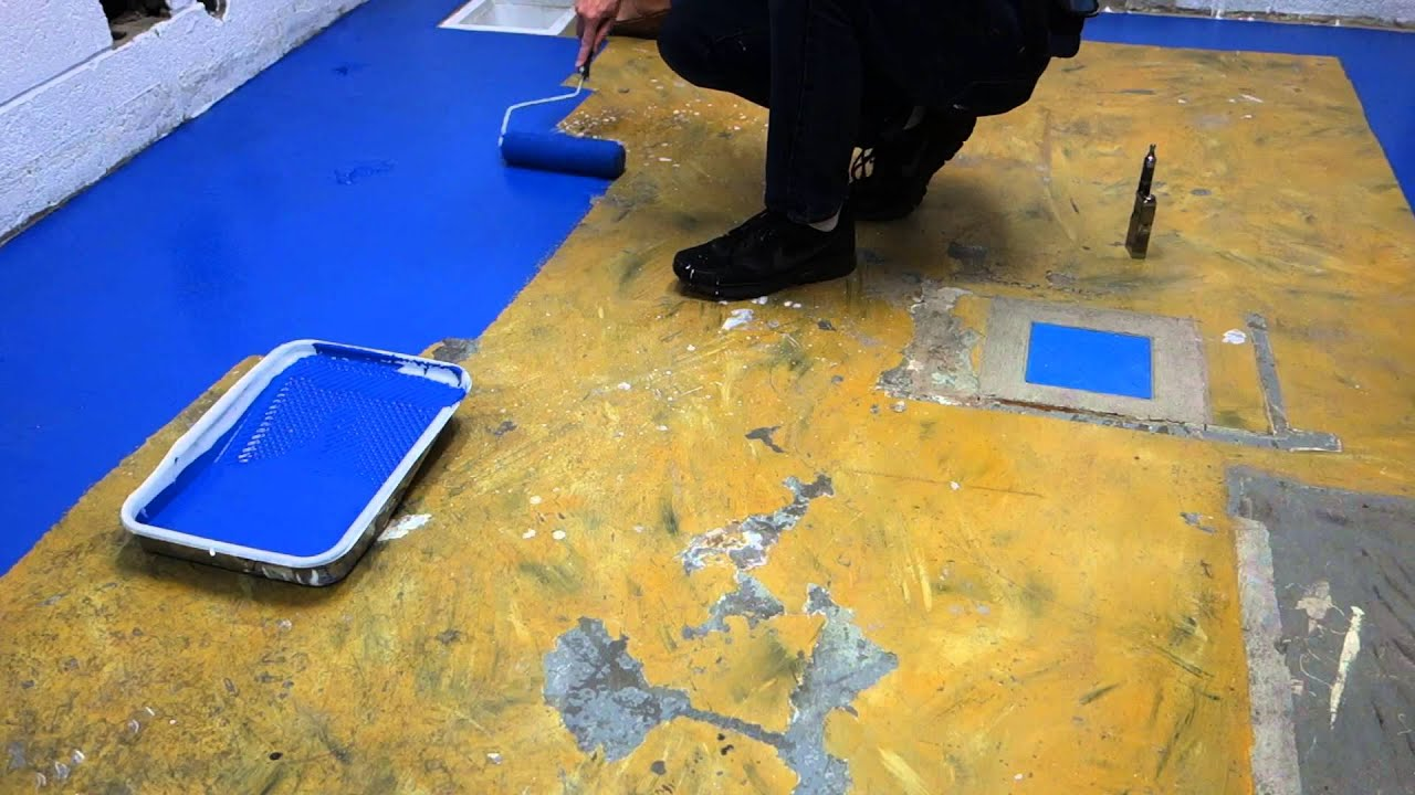 Painting A Kitchen Floor Captains Blog 6 27 2014 Cafe Kitchen Floor Painting Youtube