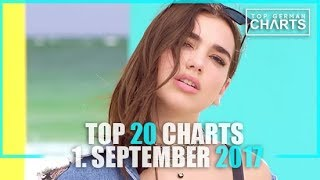 TOP 20 SINGLE CHARTS - 1. SEPTEMBER 2017