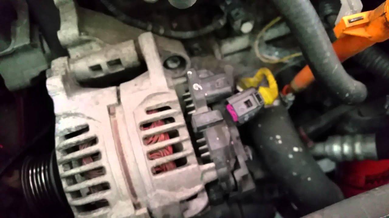 2001 Vw Beetle Alternator Removal Part 2