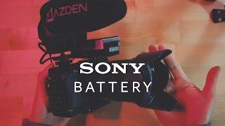 소니 카메라 배터리 문제 해결법
