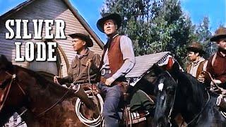 Silver Lode | Classic Film | WESTERN MOVIE | Full Length | Wild West | Cowboy Movies | Free Film