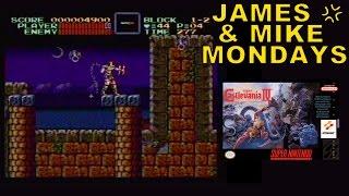 Super Castlevania IV (SNES Video Game) Part 1 - James & Mike Mondays