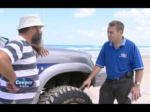 Which Tyre for Sand - Cooper Tyre Tips