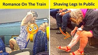 Trashy Things People Do In Public Transporation