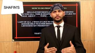 How To Present A Good Presentation By Shafin Ahmed | English Spoken Lesson 22